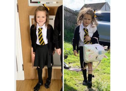 Il Prima e il Dopo il primo giorno di scuola
